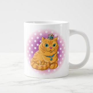 Tasse Géante Illustration d'un chat mignon