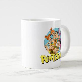 Tasse Géante Les Flintstones et le graphique de famille de