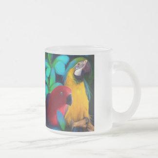 Tasse Givré Amis de perroquet