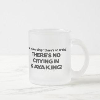 Tasse Givré Aucun pleurer - Kayaking