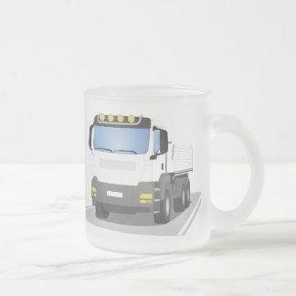 Tasse Givré chantiers camion blanc
