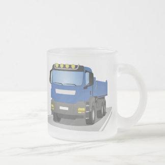 Tasse Givré chantiers camion bleus