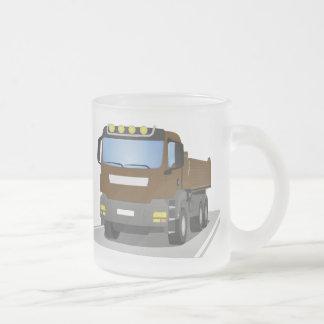 Tasse Givré chantiers camion bruns