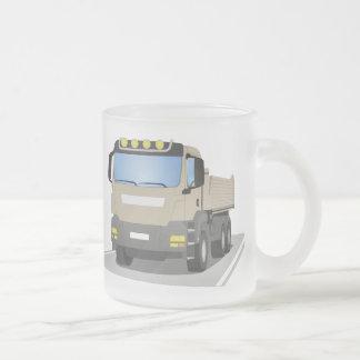 Tasse Givré chantiers camion gris