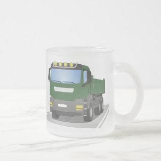Tasse Givré chantiers camion verts
