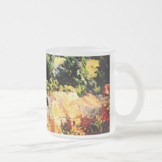 Tasse Givré Claude Monet - Vue du village de Giverny