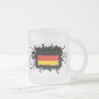 Tasse Givré Drapeau de l'Allemagne