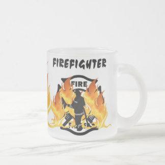 Tasse Givré Flammes de département du feu