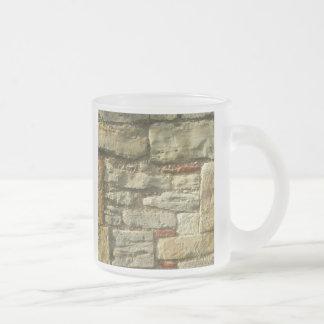 Tasse Givré Image de mur en pierre