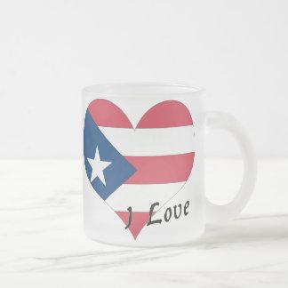 Tasse Givré J'aime Porto Rico