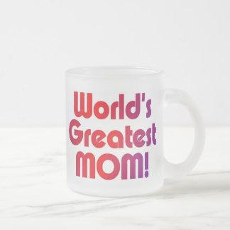 Tasse Givré La plus grande maman du monde
