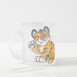 Tasse Givré Le tigre CUB de ondulation attaquent