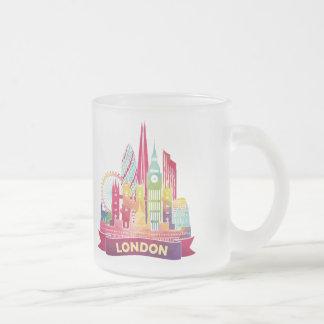 Tasse Givré Londres - voyage aux points de repère célèbres