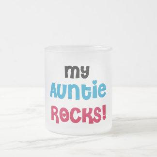 Tasse Givré Ma tante Rocks Tshirts et cadeaux