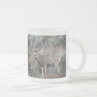 Tasse Givré Mâle de cerfs communs de mule de l'Utah