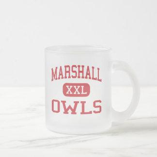 Tasse Givré Marshall - hiboux - lycée - Marshall Missouri