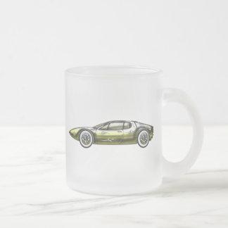Tasse Givré Or et voiture de sport de Siler
