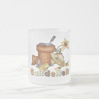 Tasse Givré T-shirts et cadeaux de jardinier