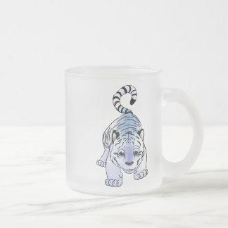 Tasse Givré Tigre CUB blanc