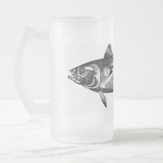 Tasse givrée de thon