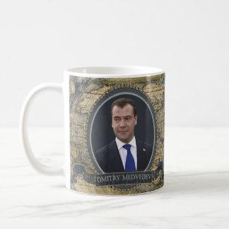 Tasse historique de Dmitry Medvedev