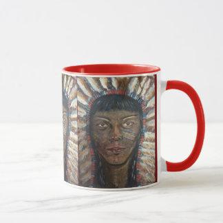 Tasse indienne indigène