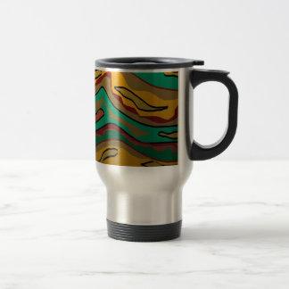 Tasse inspirée indigène colorée de Design.Travel