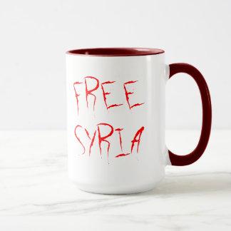 Tasse libre de la Syrie