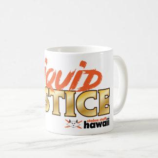 Tasse liquide volée de justice d'Hawaï de