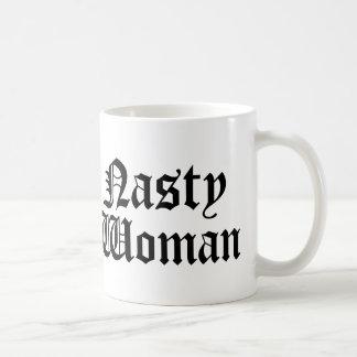 Tasse méchante de tasse de femme