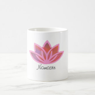 Tasse multicolore rose de Namaste Lotus