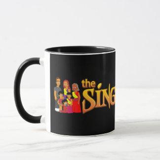 tasse noire de famille de theSinghSinghs