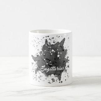 Tasse noire de Sagittaire