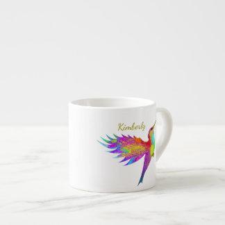 Tasse nommée faite sur commande de café express de
