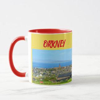 Tasse panoramique des Îles d'Orkney