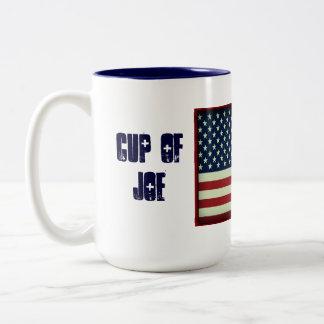 Tasse patriotique de tasse de boisson de Joe