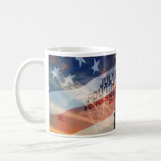 Tasse patriotique des Etats-Unis de liberté de
