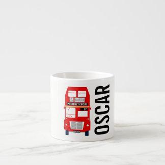Tasse personnalisable de café express d'autobus de