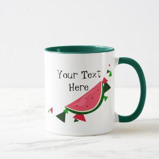 Tasse personnalisable de pastèque
