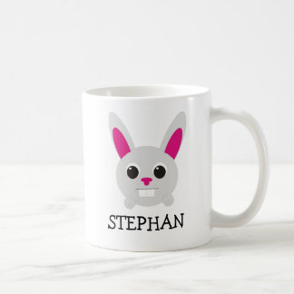 Tasse personnalisée de lapin