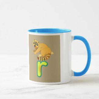 Tasse/r-raton laveur d'alphabet mug