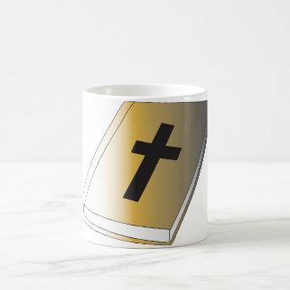Tasse religieuse de livre