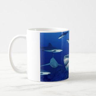 Tasse-Requins en céramique de café Mug