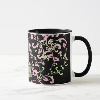 tasse romantique d'arabesque