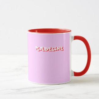 Tasse rose de Madeline