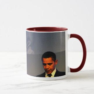 Tasse rouge de sonnerie du Président Barack Obama