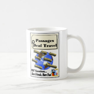 Tasse sourde de voyage de passages