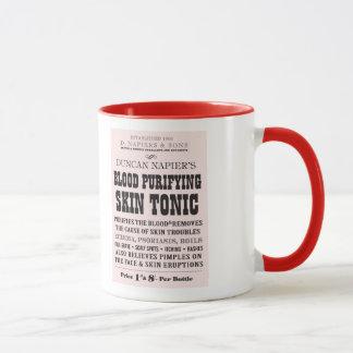 Tasse tonique de Victoriana de peau