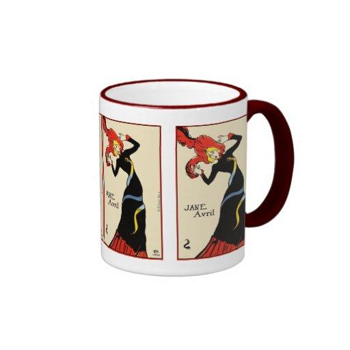 Tasse : Toulouse Lautrec - Jane Avril