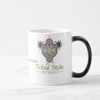 Tasse tribale de conception de style